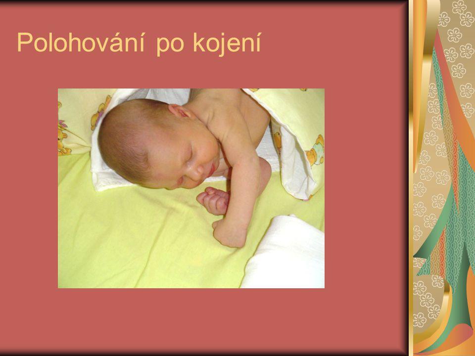 Polohování po kojení