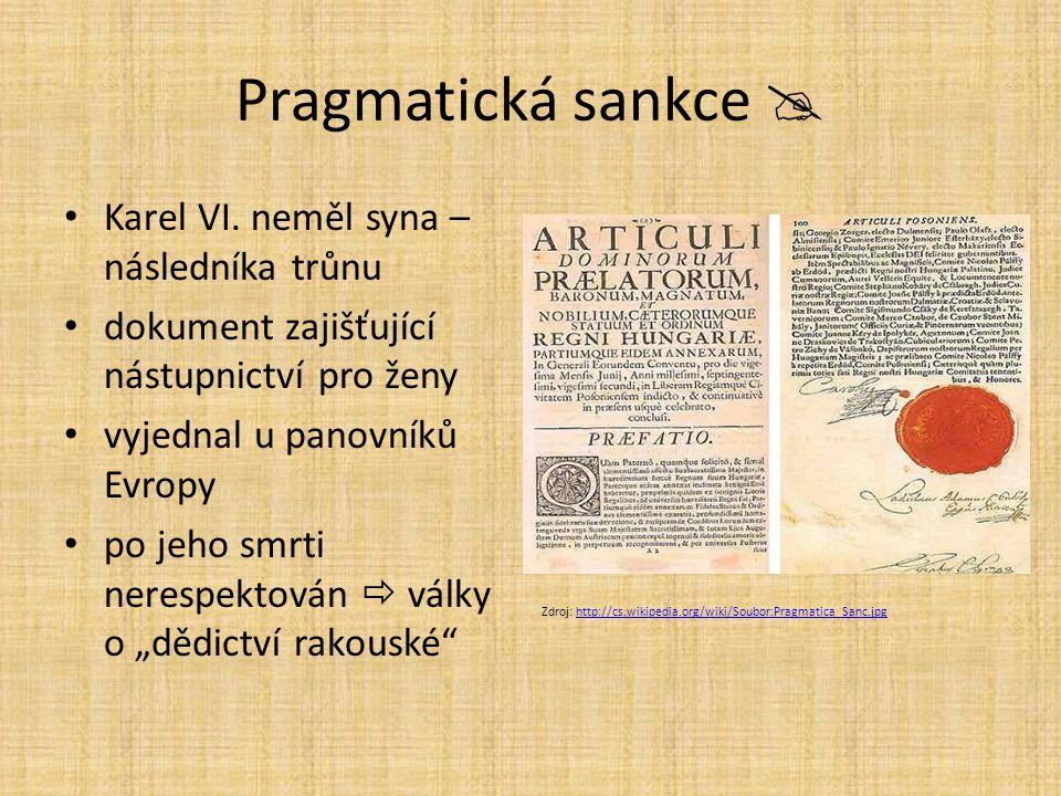 Pragmatická sankce  Karel VI.