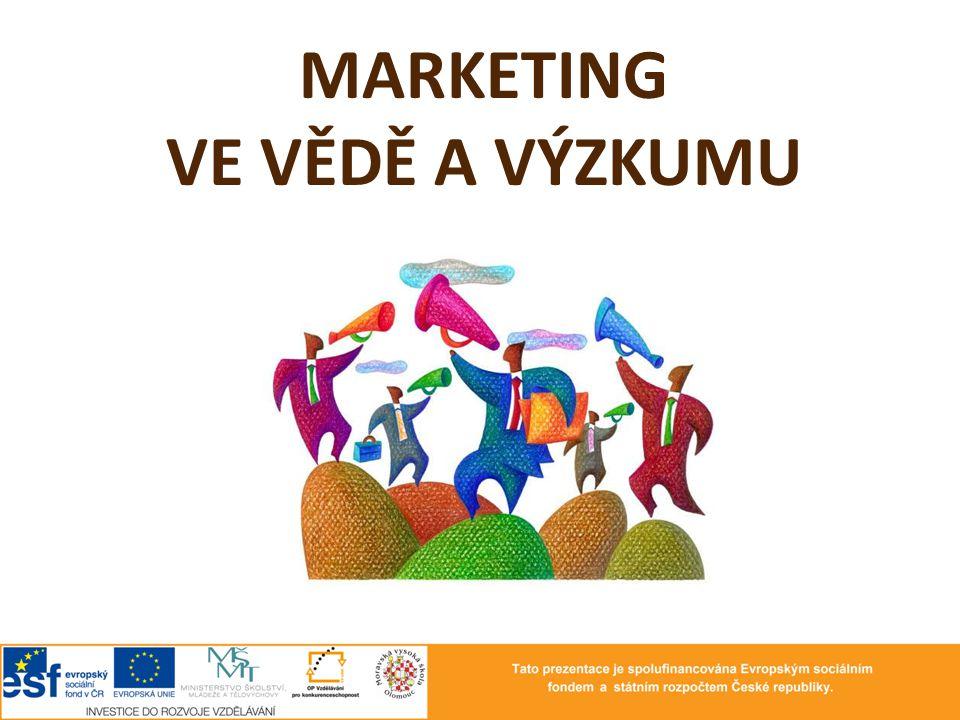 podstata marketingu marketingové prostředí marketing a trh marketingová strategie nástroje marketingu nástroje propagace VaV publicita ve VaV …