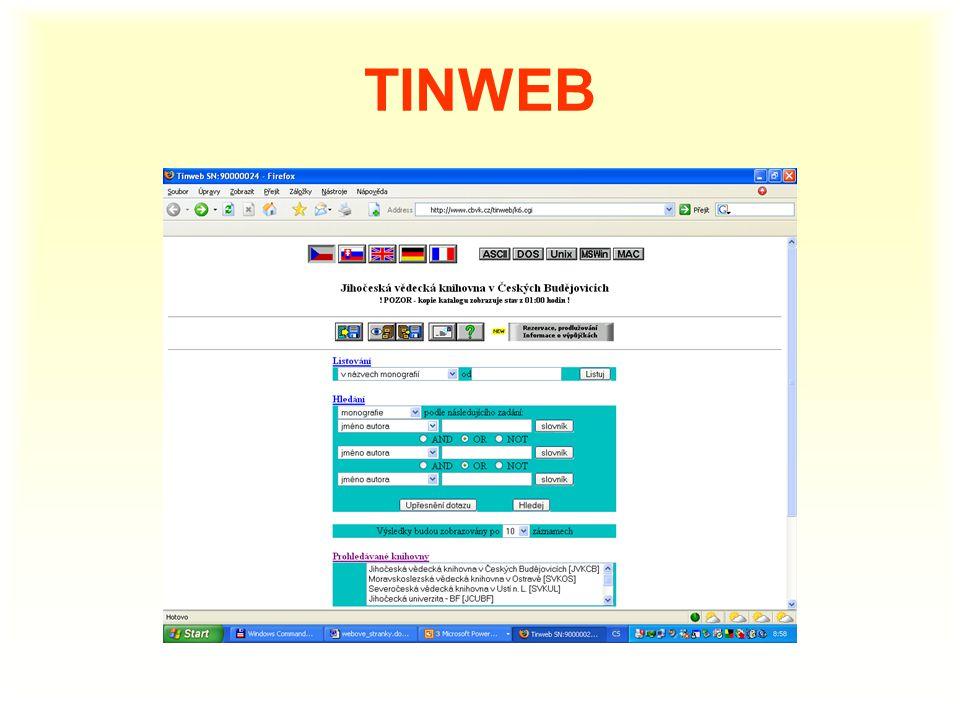 TINWEB