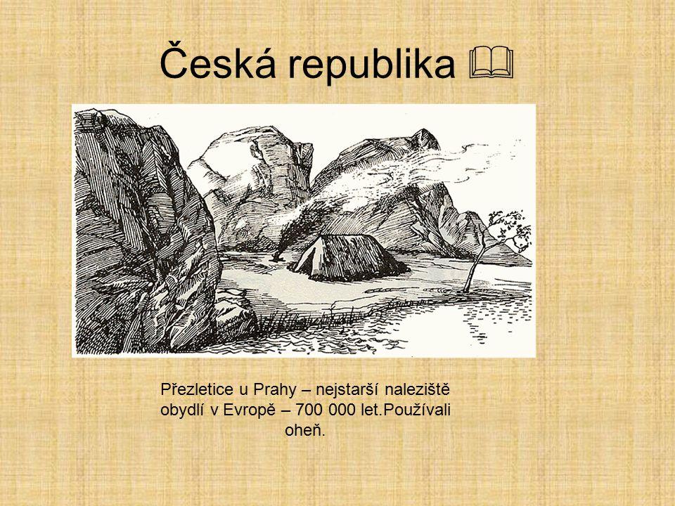 Česká republika  Stránská skála – homo erectus Zdroj: http://commons.wikimedia.org/wiki/File:Str%C3%A1nsk%C3%A1_sk%C3%A1la_ %287%29.jpg http://common