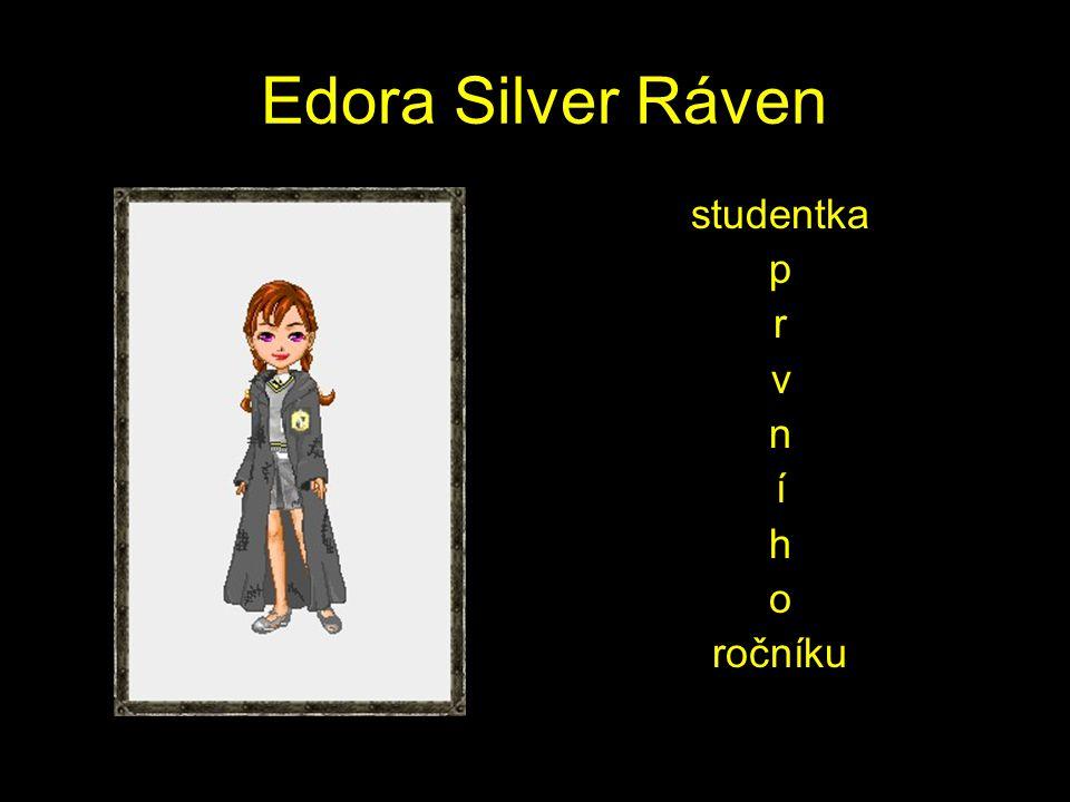 Edora Silver Ráven studentka p r v n í h o ročníku