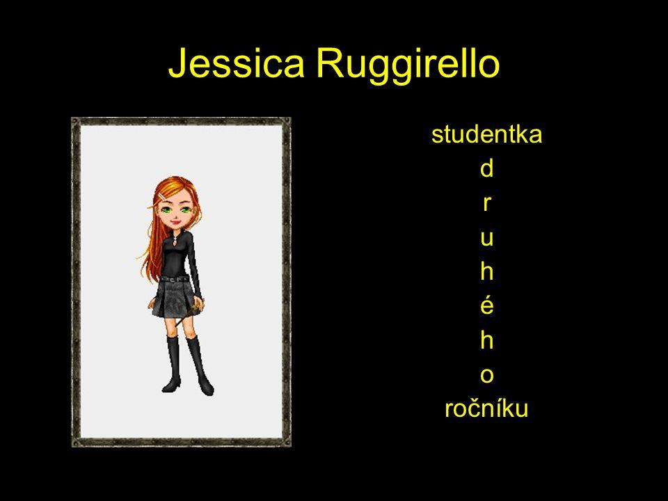 Jessica Ruggirello studentka d r u h é h o ročníku