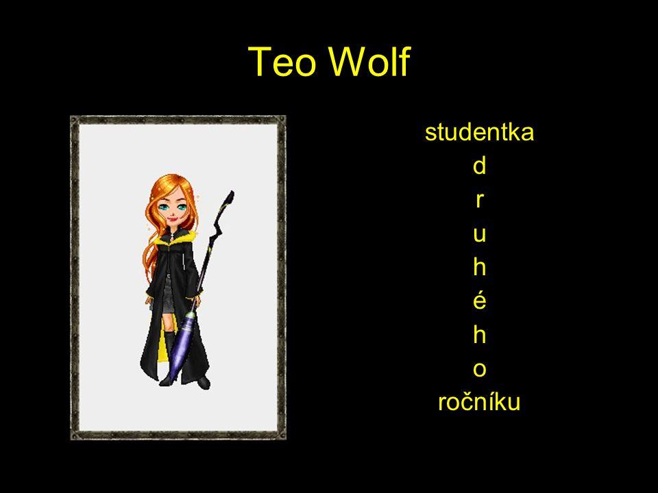 Teo Wolf studentka d r u h é h o ročníku