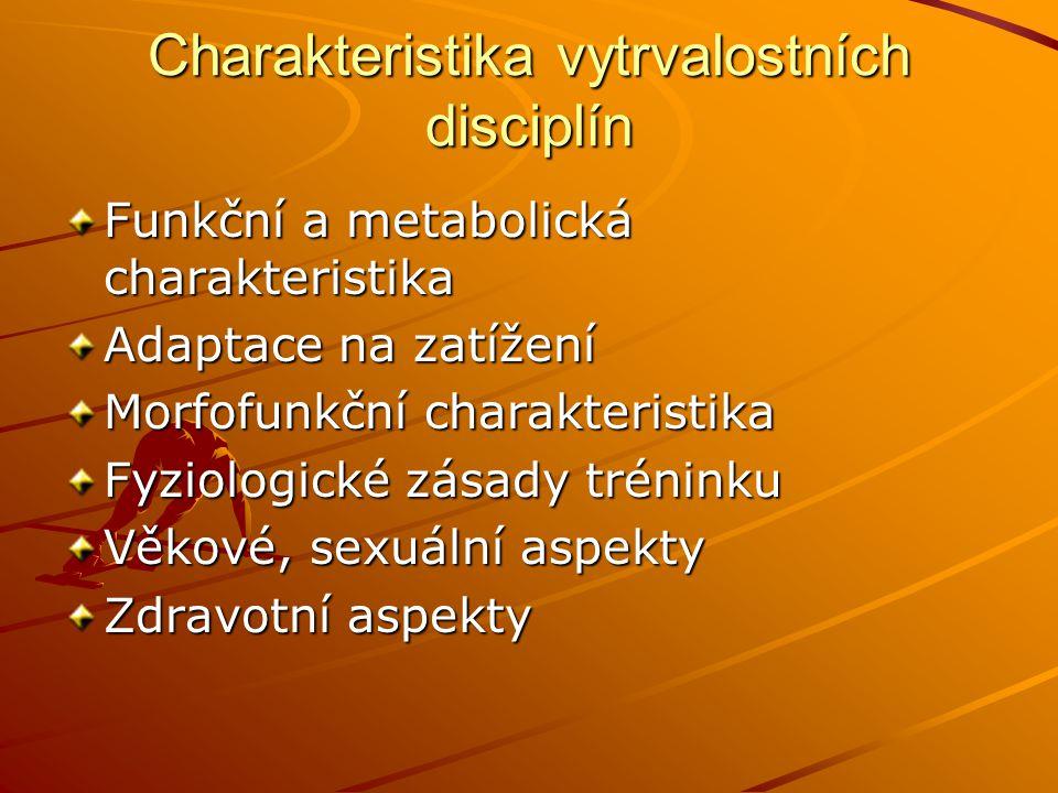 Funkční a metabolická charakteristika Jak dlouho ( s.
