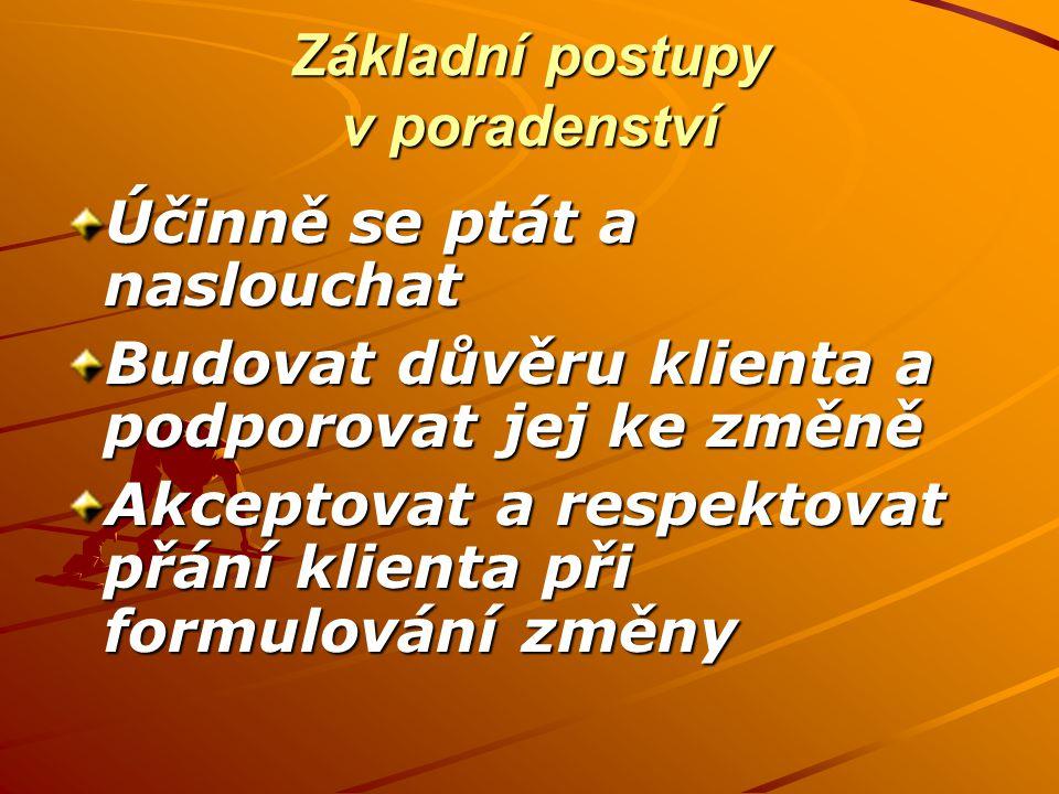Nácvik poradenského rozhovoru 3.