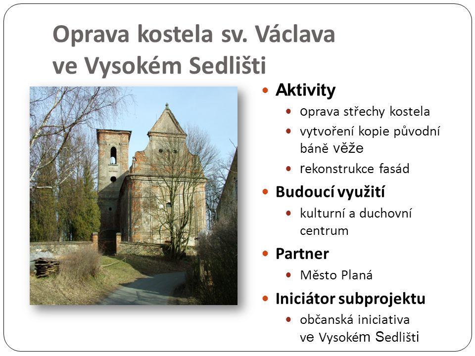 Oprava kostela sv.