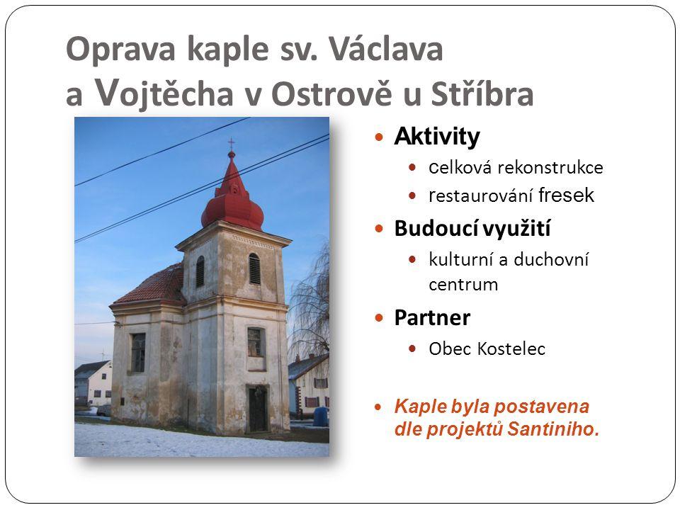 Oprava kaple sv.