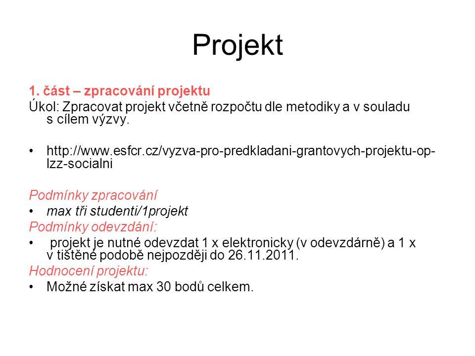 Projekt 1.
