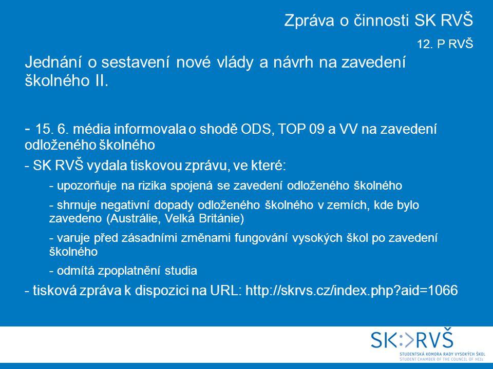 Jednání Reprezentativní komise MŠMT -16.6.