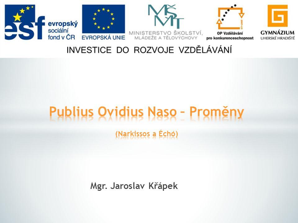 Mgr. Jaroslav Křápek