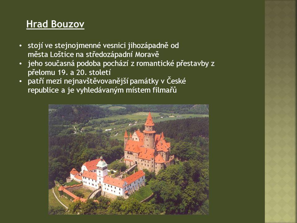 stojí ve stejnojmenné vesnici jihozápadně od města Loštice na středozápadní Moravě jeho současná podoba pochází z romantické přestavby z přelomu 19.