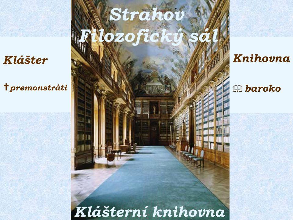 Národní knihovna Broumov Klášterní knihovna Klášter  benediktýni Knihovna  baroko