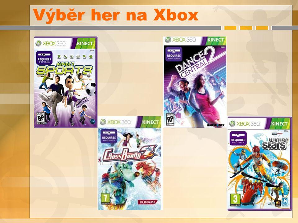 Výběr her na Xbox