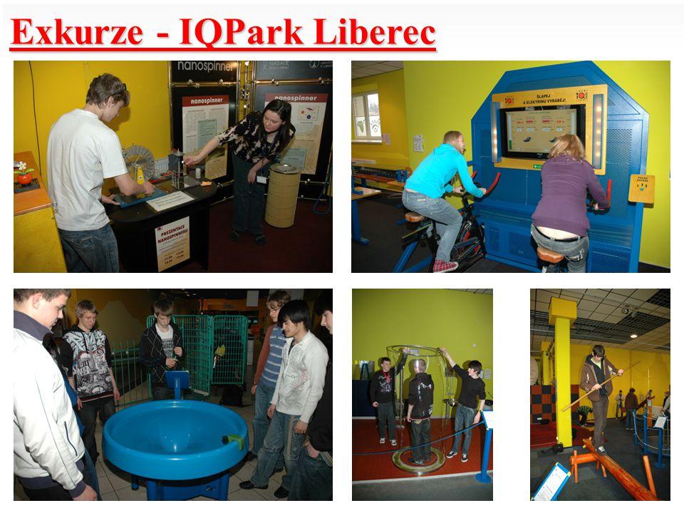 Exkurze - IQPark Liberec
