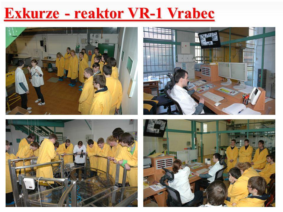 Exkurze - reaktor VR-1 Vrabec