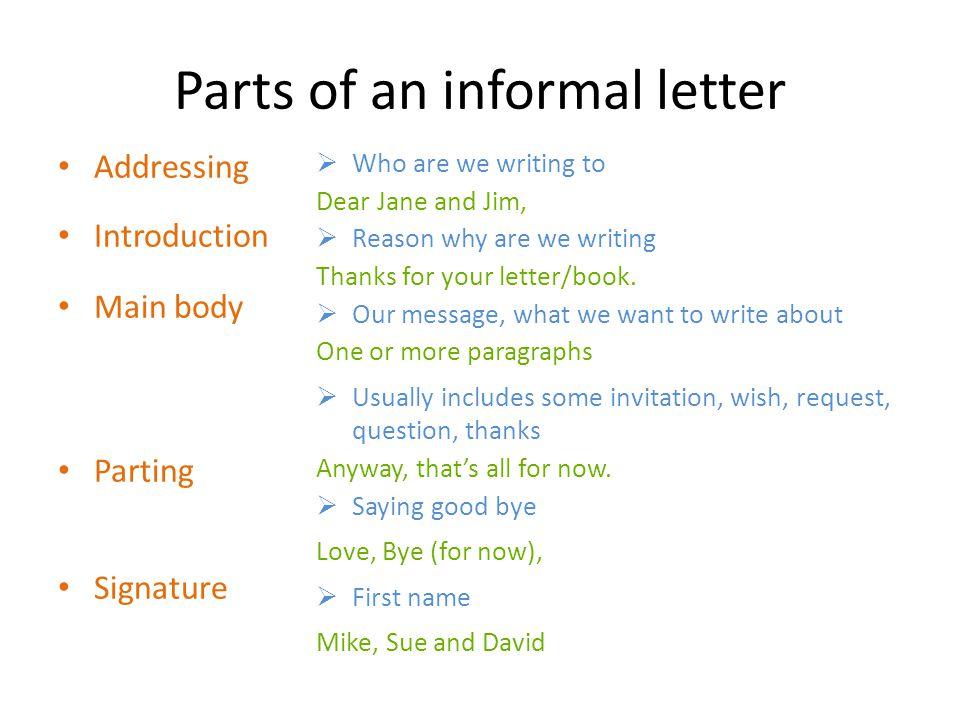 How to begin Dear Angela (, ) Dear Richard (, ) Hi.
