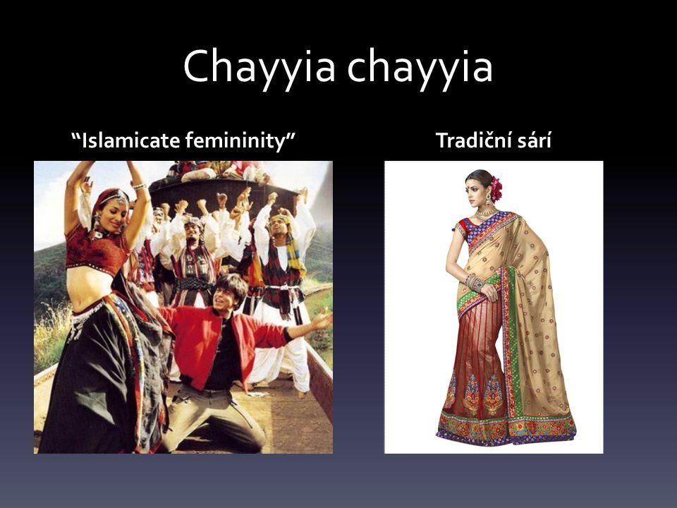 Chayyia chayyia Islamicate femininity Tradiční sárí