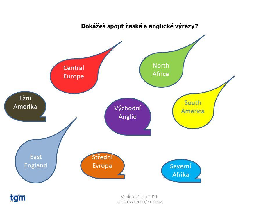 Dokážeš spojit české a anglické výrazy.