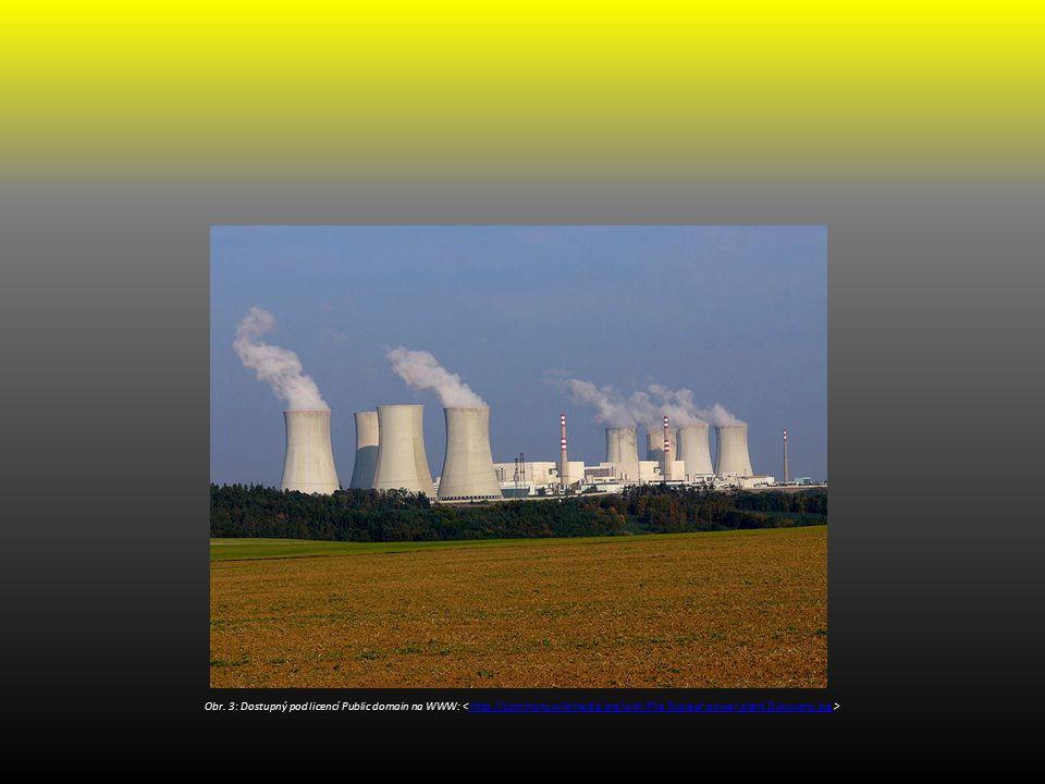 Obr. 3: Dostupný pod licencí Public domain na WWW: http://commons.wikimedia.org/wiki/File:Nuclear.power.plant.Dukovany.jpg