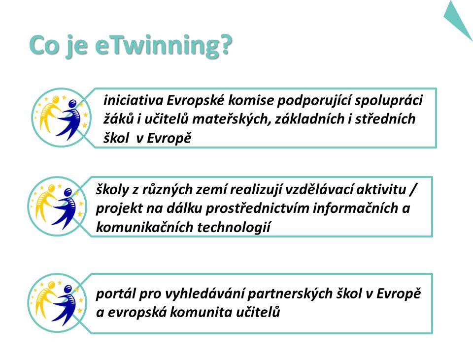 Co je eTwinningový projekt.Dvě a více evropských zemí realizují vzdělávací aktivitu pomocí ICT.