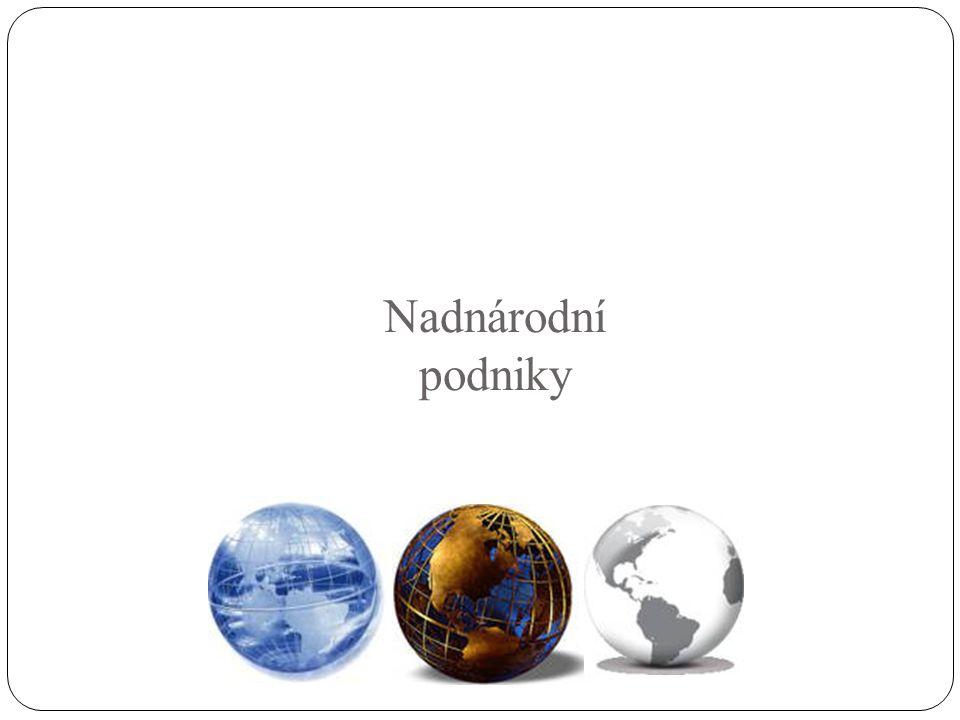 Nadnárodní podniky