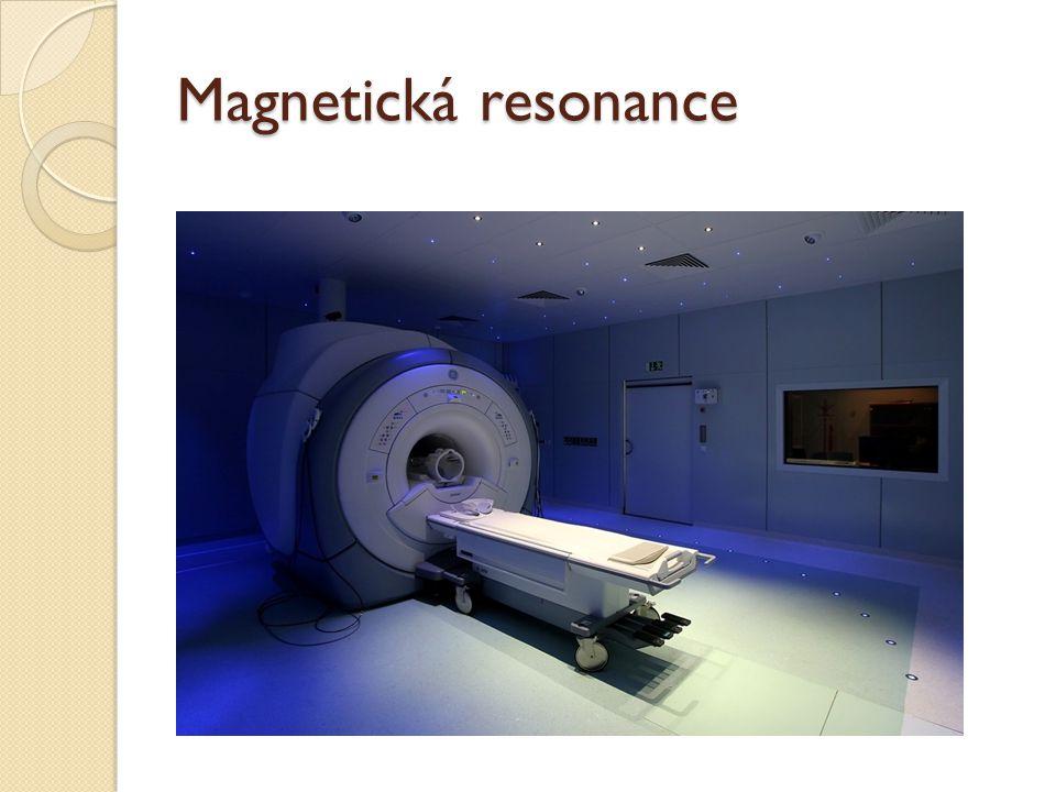 Magnetická resonance