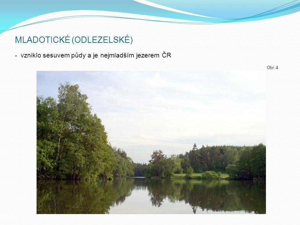 RYBNÍKY ČR Umělé vodní nádrže.Byly budovány již od středověku.