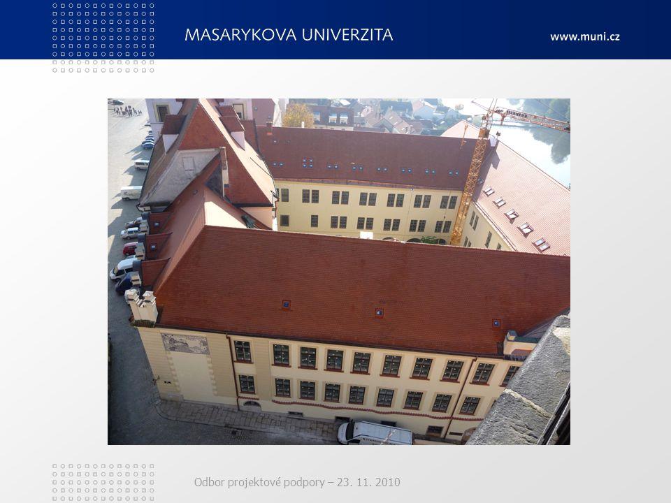 Odbor projektové podpory – 23. 11. 2010