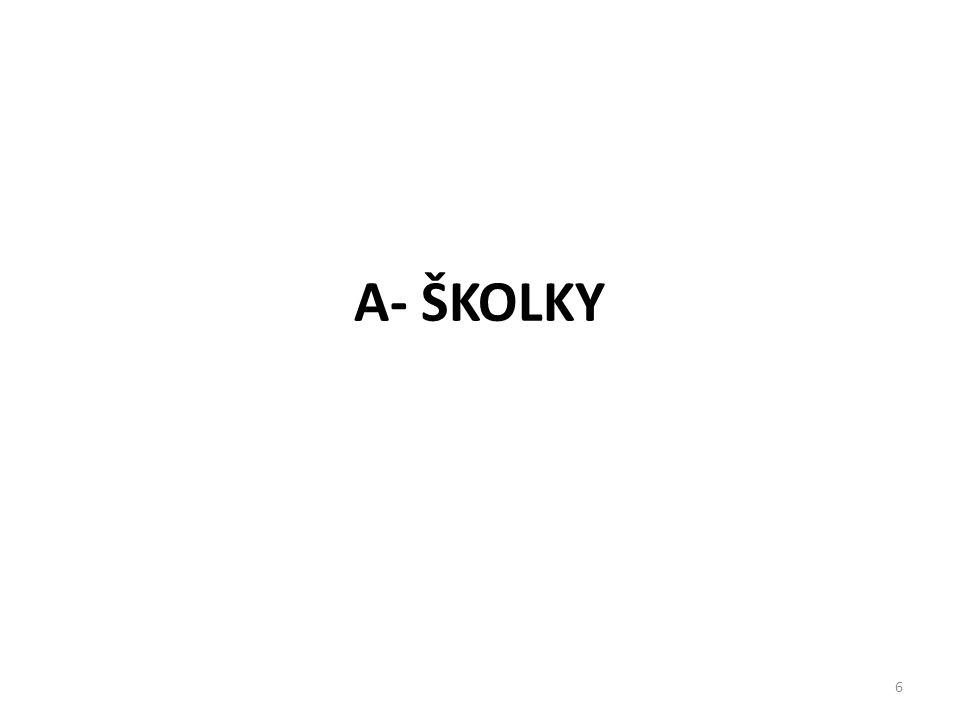 6 A- ŠKOLKY