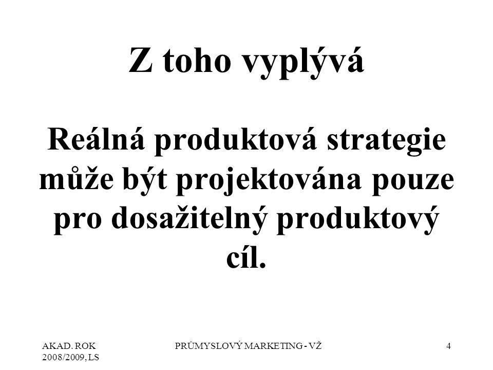 AKAD. ROK 2008/2009, LS PRŮMYSLOVÝ MARKETING - VŽ25 2. A N A L Ý Z A S W O T