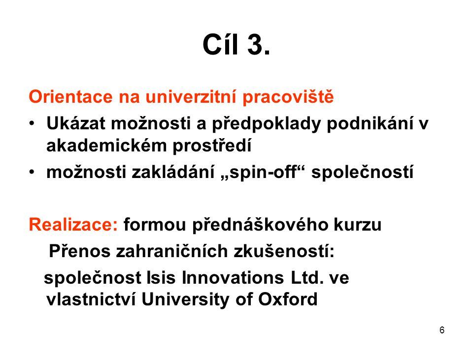 17 9 Další výstupy/výsledky Horizontální témata, Partnerství Horizontální témata.