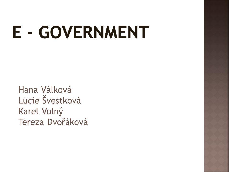 Hana Válková Lucie Švestková Karel Volný Tereza Dvořáková