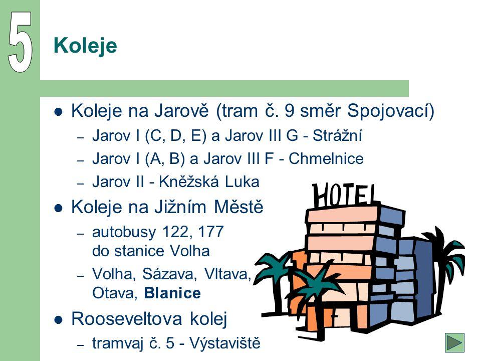 49 Koleje Koleje na Jarově (tram č.
