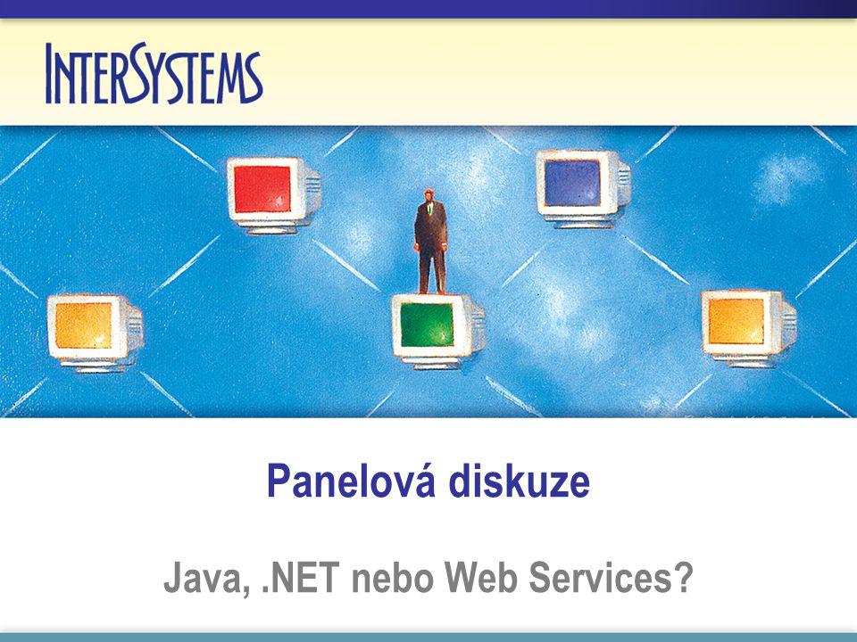Panelová diskuze Java,.NET nebo Web Services