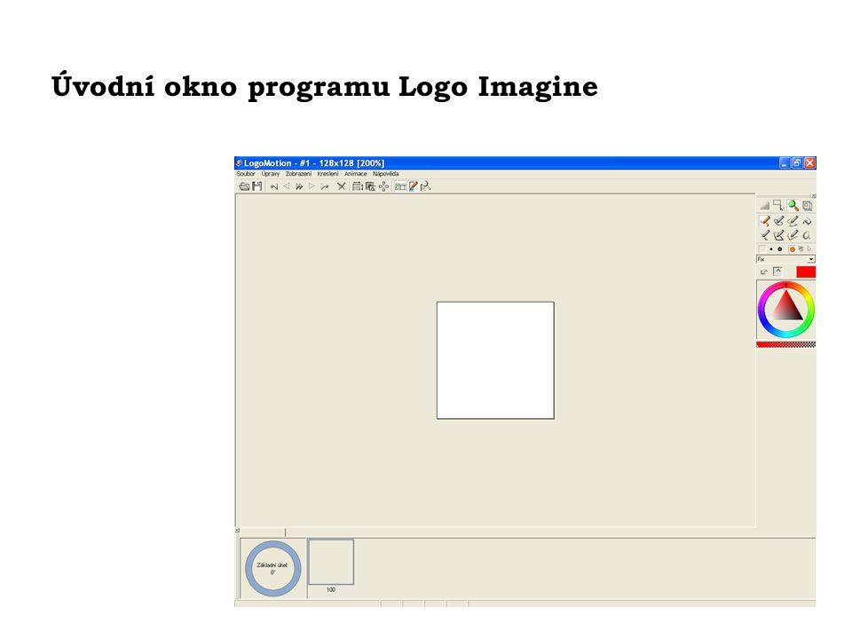 Úvodní okno programu Logo Imagine