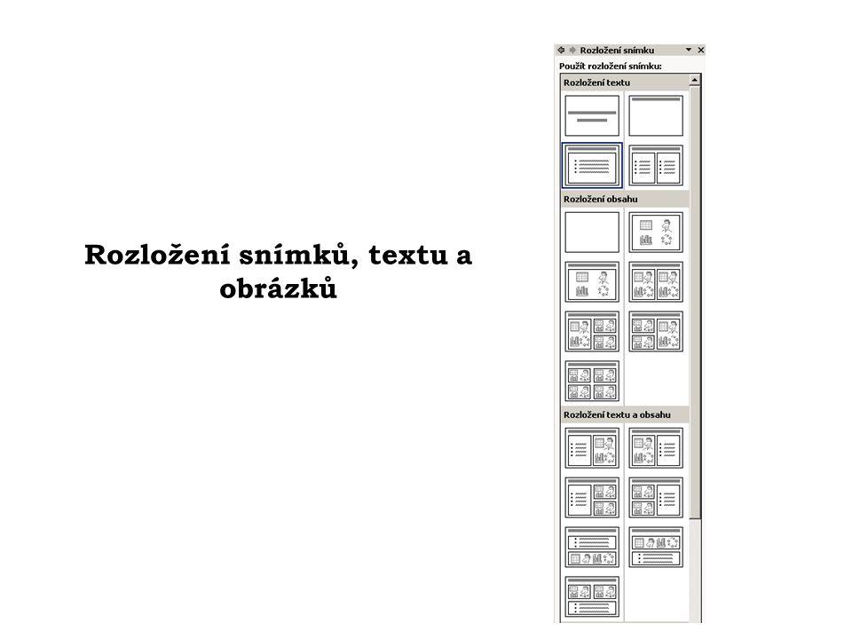 Úvodní snímek prezentace
