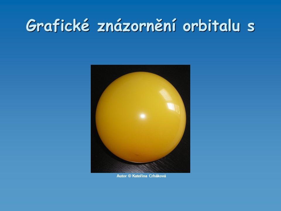 Grafické znázornění orbitalu s Autor © Kateřina Crháková