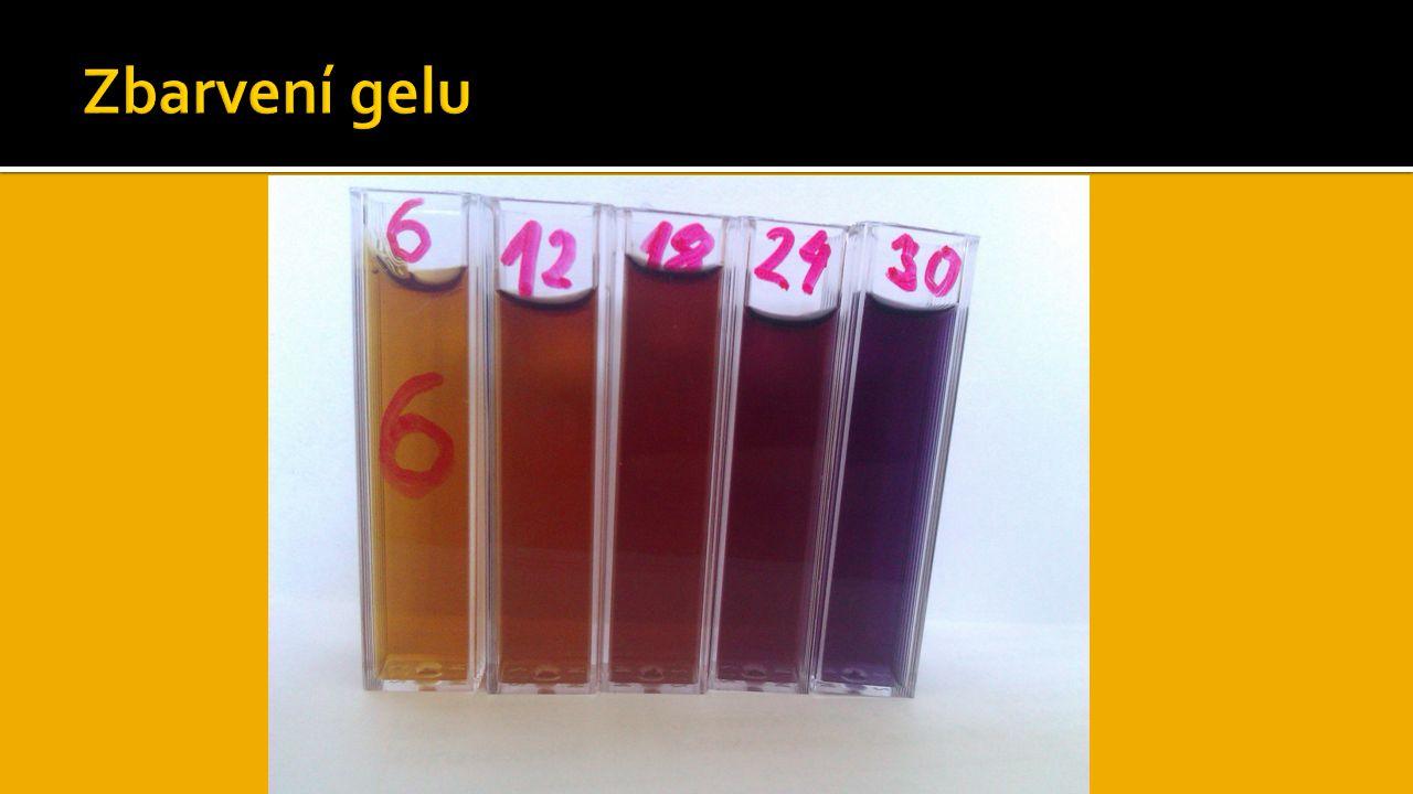  Podařilo se nám vyrobit funkční gelový dozimetr  Ozařovali jsme v rozmezí 6 – 30 Gy  Naměřené hodnoty odpovídaly předpokládaným výsledkům  Změna barvy gelu byla dobře viditelná  Pokus byl úspěšný