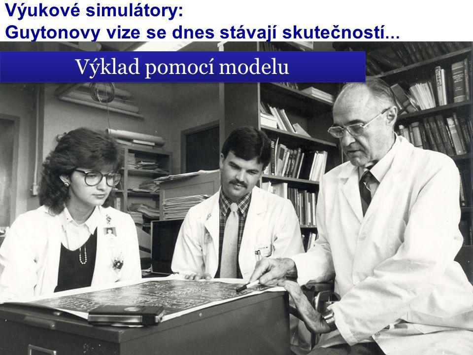 Výukové simulátory: Guytonovy vize se dnes stávají skutečností … Výklad pomocí modelu