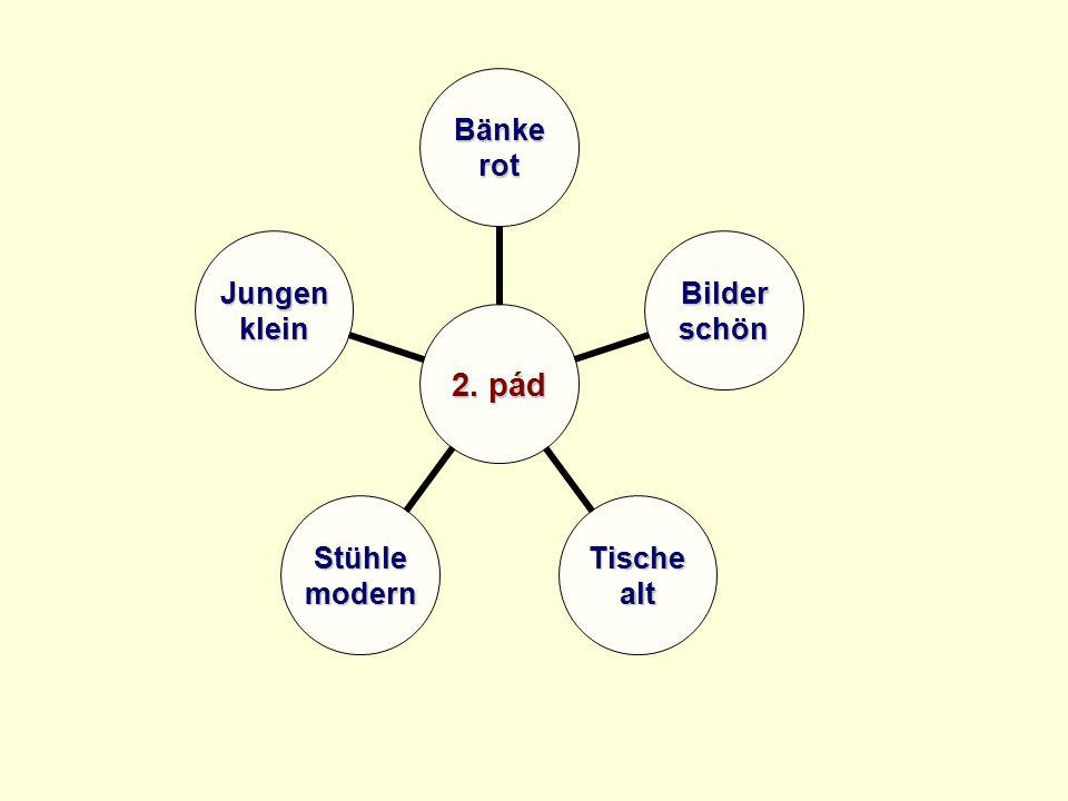 2. pád Bänkerot Bilderschön TischealtStühlemodern Jungenklein