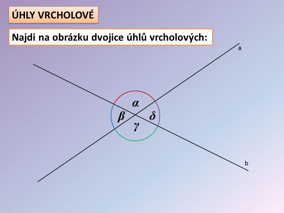 Urči velikost všech zbývajících úhlů: 45° 50° 95° 85° 95° 50° 45° 135° 130°