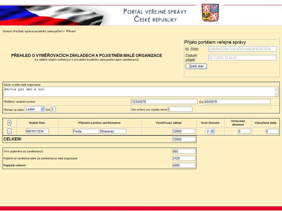 Portál veřejné správy © 2002 IBM Corporation ISSS 2003 VZPMO II