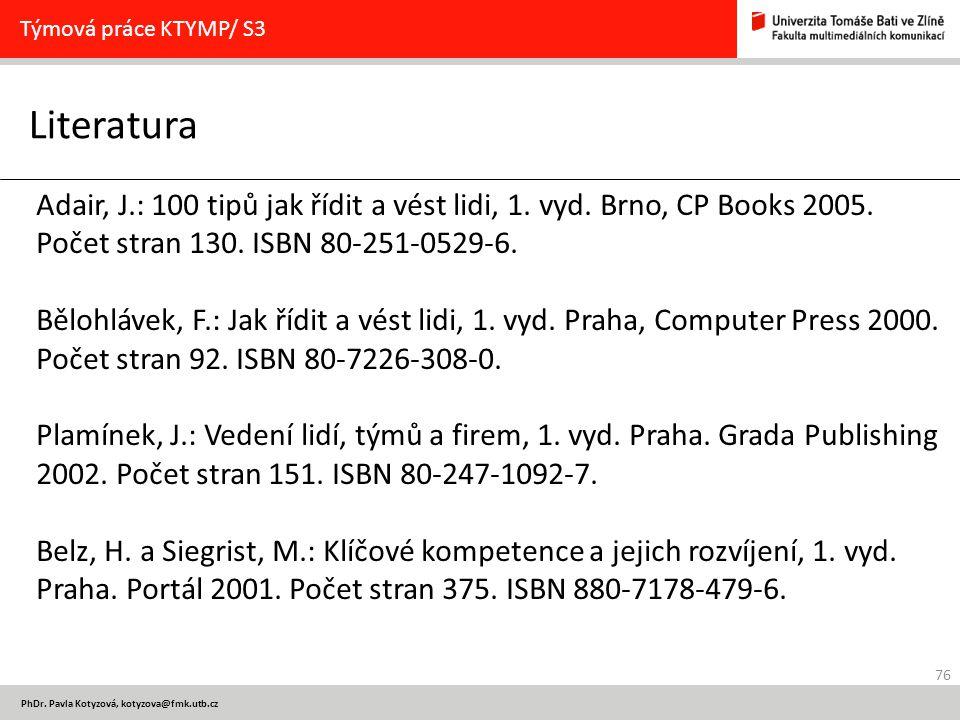 76 PhDr.