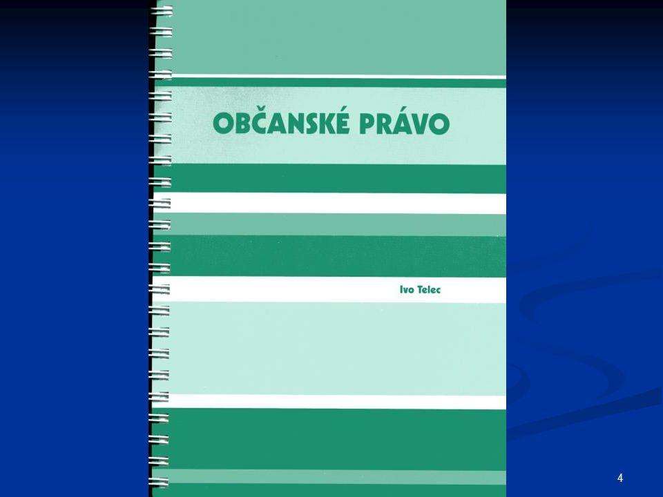 215 Eliáš/Zuklínová, Principy a východiska nového kodexu soukromého práva.
