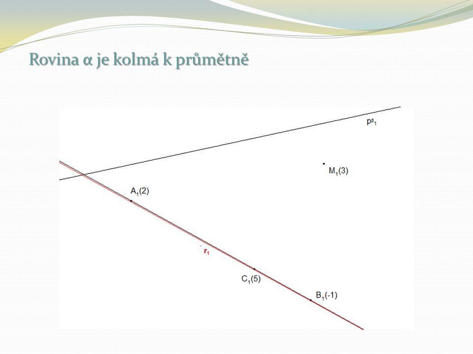 Ul. 27 Zobrazte průsečnici r rovin α = ↔ h α (-2) h α (1) a β = ↔ h β (-1) h β (2)