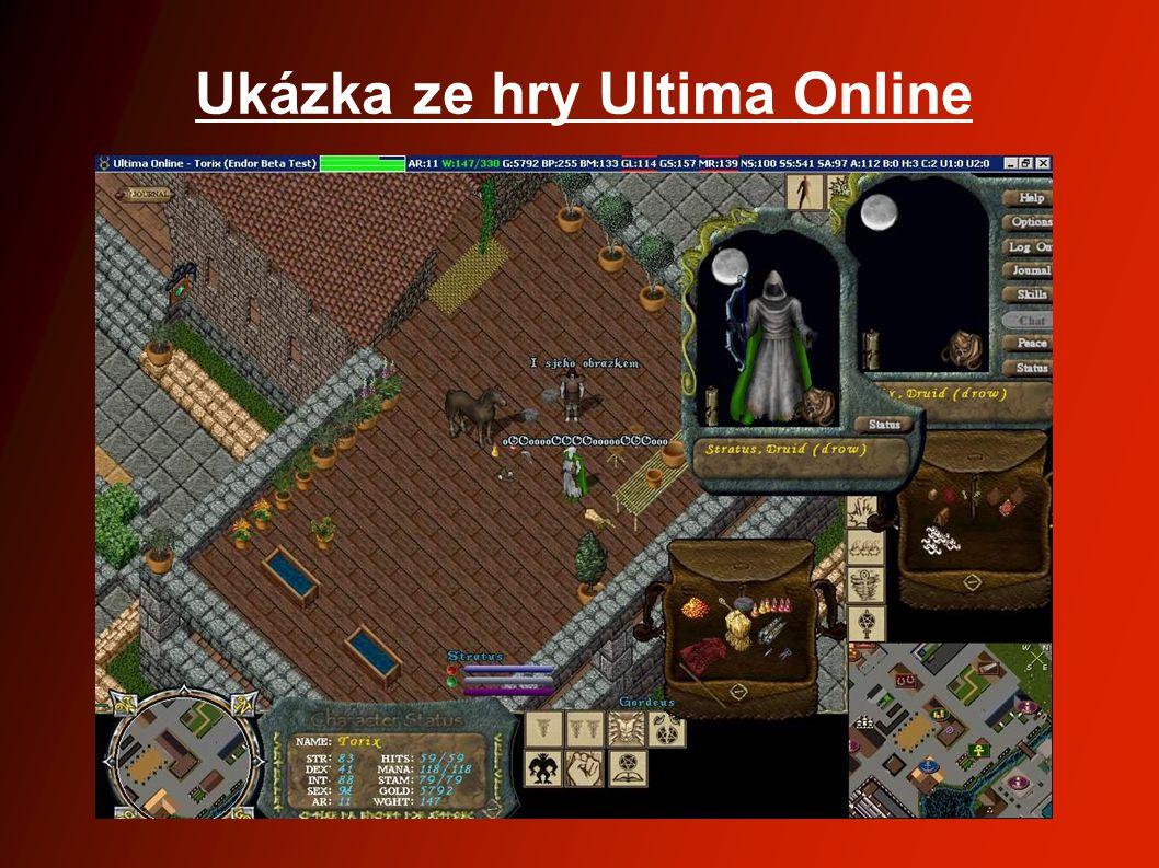 Ukázka ze hry Ultima Online