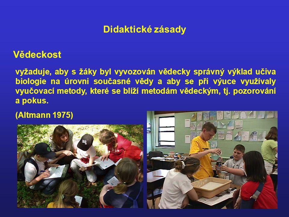 Učivo je zjednodušené a srozumitelné žákům určitého věku !!.