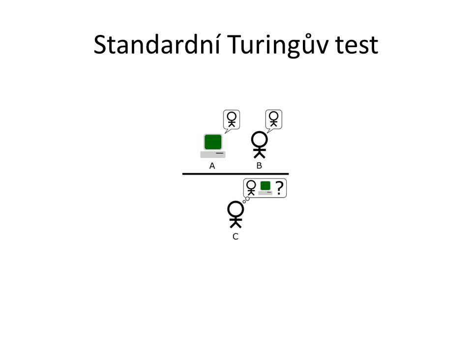 Standardní Turingův test