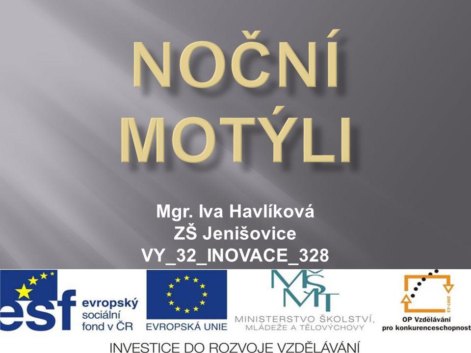 Mgr. Iva Havlíková ZŠ Jenišovice VY_32_INOVACE_328